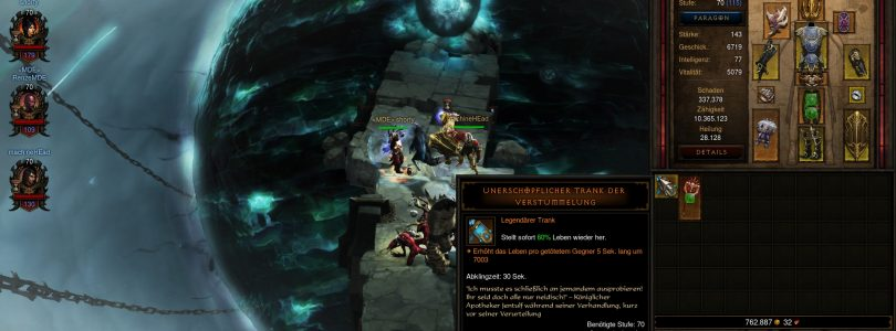 Geiler Loot in Diablo 3 gedroppt auf Qualstufe 3