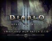 Diablo 3 – Vorschau zu Patch 2.1.0