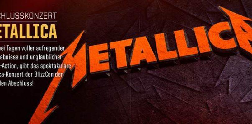 Metallica rockt die Blizzcon 2014
