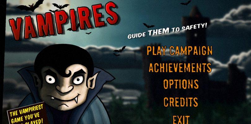 Kurztest: Vampires! Guide them to Safety – Getarnte Lemminge