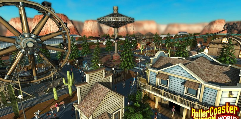 RollerCoaster Tycoon World – Morgen startet der Early Access
