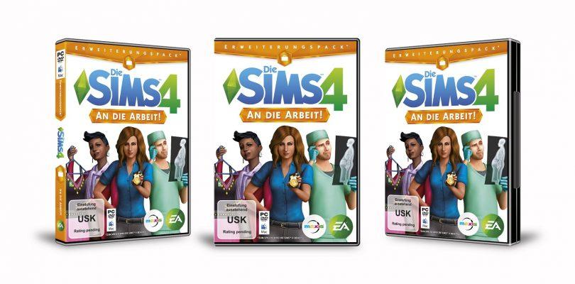 Die Sims 4 – Addon An die Arbeit ab sofort erhältlich