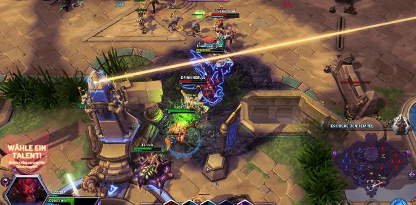 Heroes of the Storm – Kontrollbesuch der Beta Version