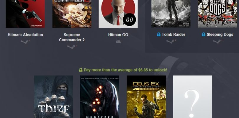 Humble Bundle – Square Enix 2 mit Hitman, Tomb Raider und Co.