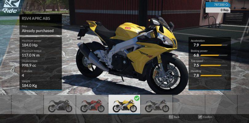 Ride – Das Motorradrennspiel wird verschoben