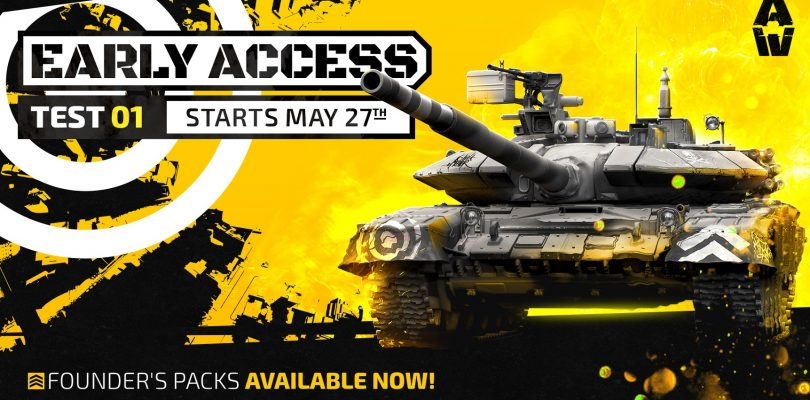 Armored Warfare – Gründerpakete, Early-Access-Testlauf