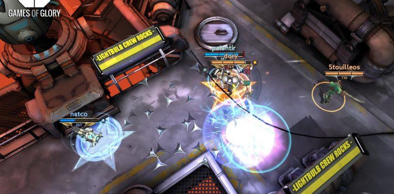 Games of Glory erscheint ebenfalls für die PS4