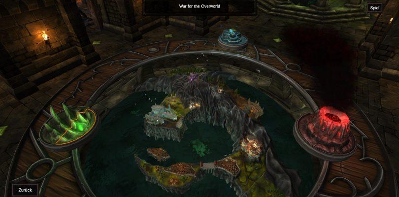 Test: War for the Overworld – Mehr als ein Dungeon Keeper Klon?