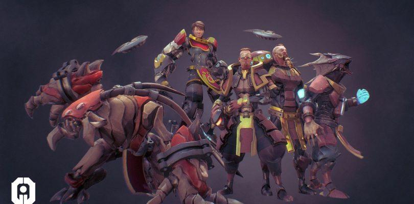 Games of Glory – Sci-Fi-Moba ab sofort auf Steam verfügbar
