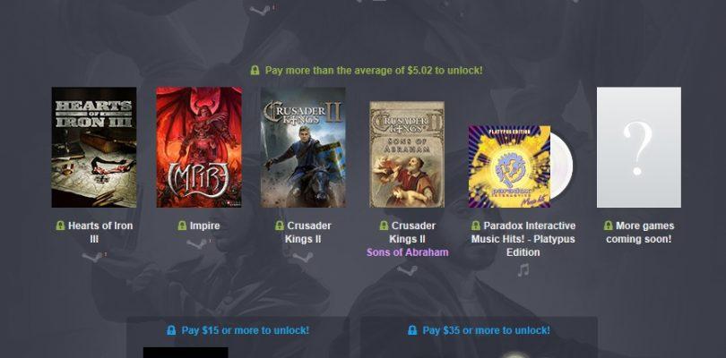 Humble Paradox Bundle – 6 Games ab 1€ von Paradox Interactive