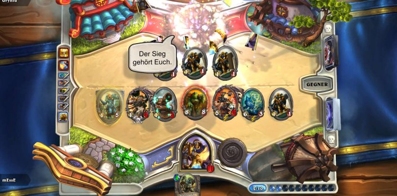 Hearthstone – Funwar – [MDE] mEssE vs. [BEW] Lu