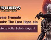Hounds Online – Freunde werben, Loot erhalten