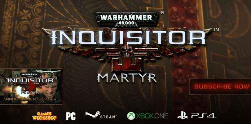 Warhammer 40.000: Inquisitor – Martyr – Neues Action-RPG von Neocore Games