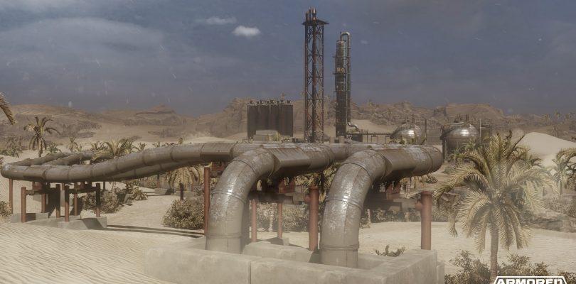 """Armored Warfare – Trailer zur Karte """"Pipelines"""" veröffentlicht"""
