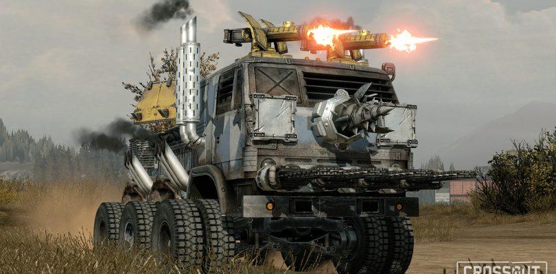 Preview: Crossout – Die Fahrzeugkriege sind eröffnet