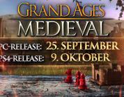 Grand Ages: Medieval – Zum Release gibt es einen Launch-Trailer