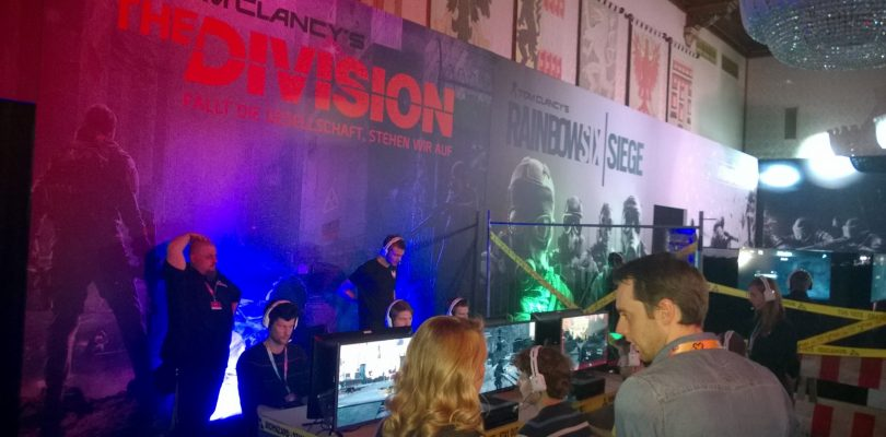 GameCity 2015 – Ubisoft, The Division & Rainbow Six Siege