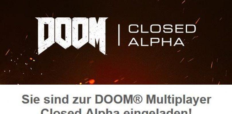 Doom – Einladungen zur Closed Alpha verschickt
