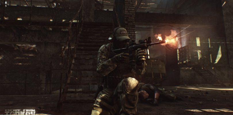 Escape from Tarkov – Neue Gameplay-Szenen und Inventar-Management im Video
