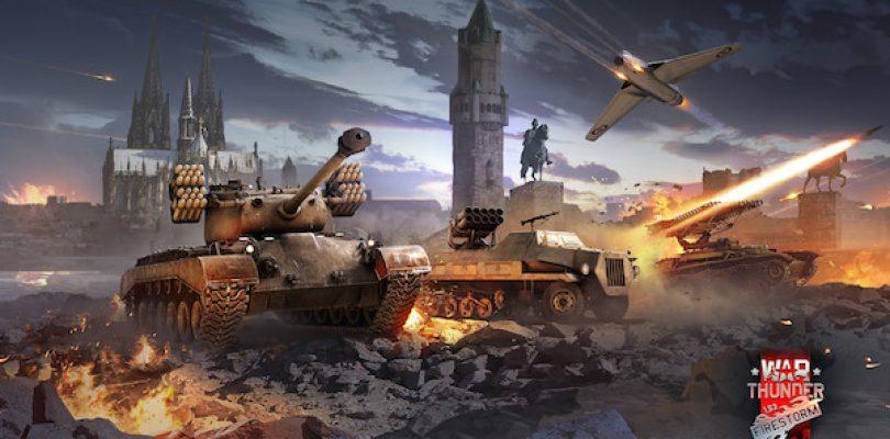 """War Thunder – Update """"Firestorm"""" bringt frische Grafik"""