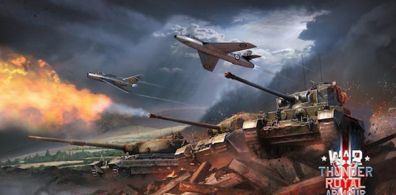 War Thunder – Die britischen Panzer rollen aus
