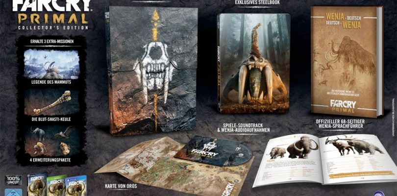 Far Cry Primal – Inhalt der Collectors Edition