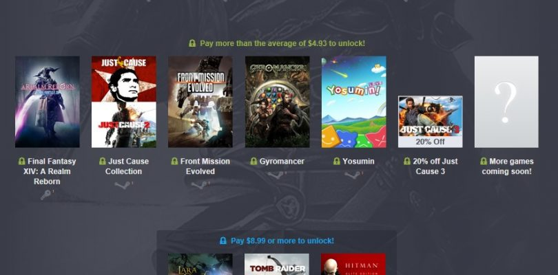 Humble Square Enix Bundle 3 mit Life is Strange, FF XIV, Murdered & Just Cause