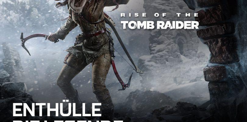 Beim Kauf einer GeForce-Karte gibt es Rise of the Tomb Raider gratis