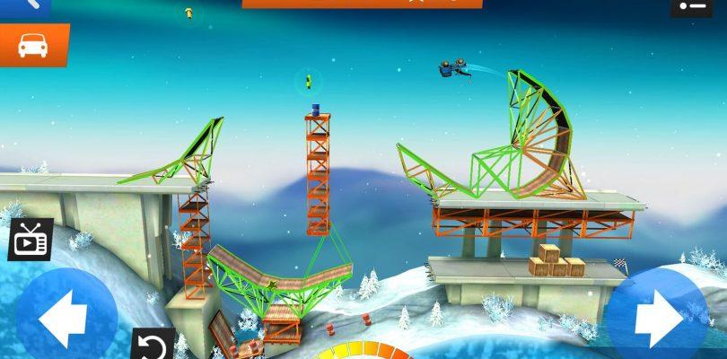 Test: Bridge Constructor Stunts – Action & Tüfteln wie beim Ü-Ei