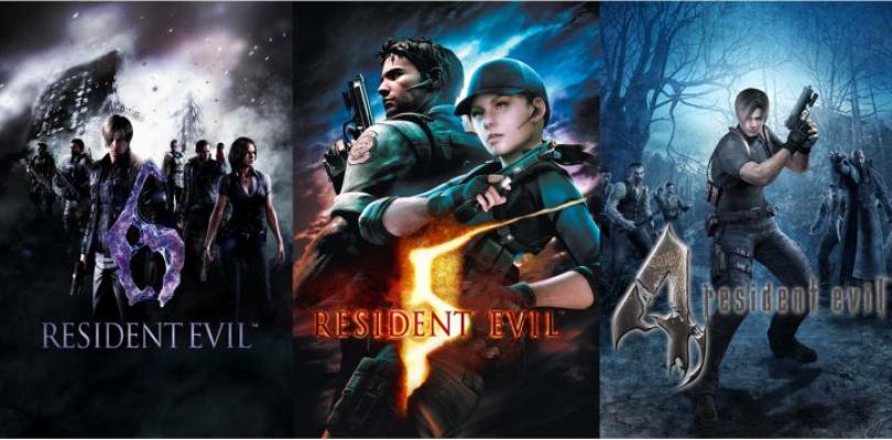 Resident Evil – Ankündigungstrailer zu den Remakes von Teil 4, 5 und 6
