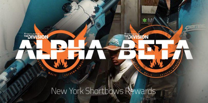 """The Division – Die Belohnung aus der Beta ist """"New York Shortbow"""" Outfit"""