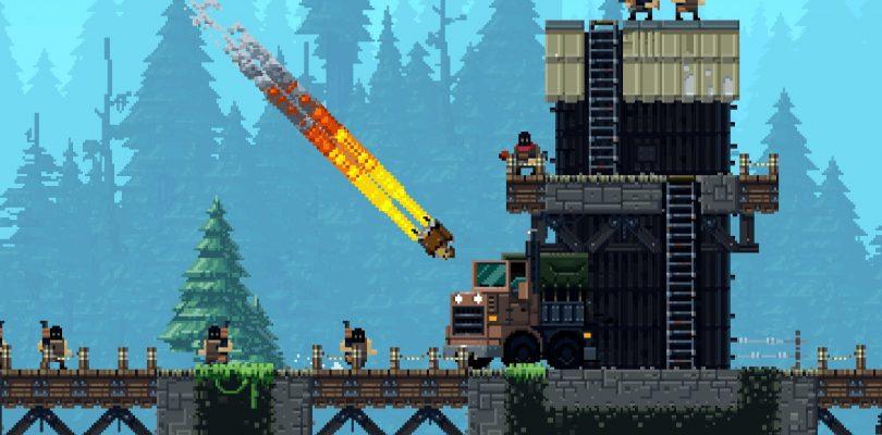 Broforce startet nun auch auf der PS4 durch