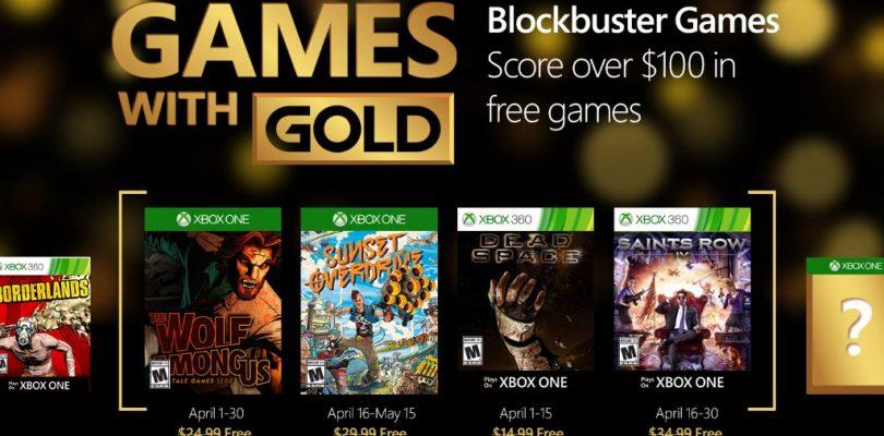 Das sind die Games with Gold im April 2016