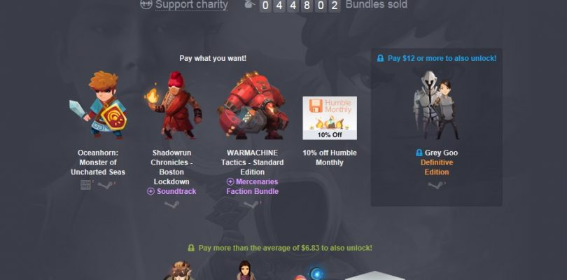 Humble Jumbo Bundle mit Shadowrun, Grey Goo und mehr