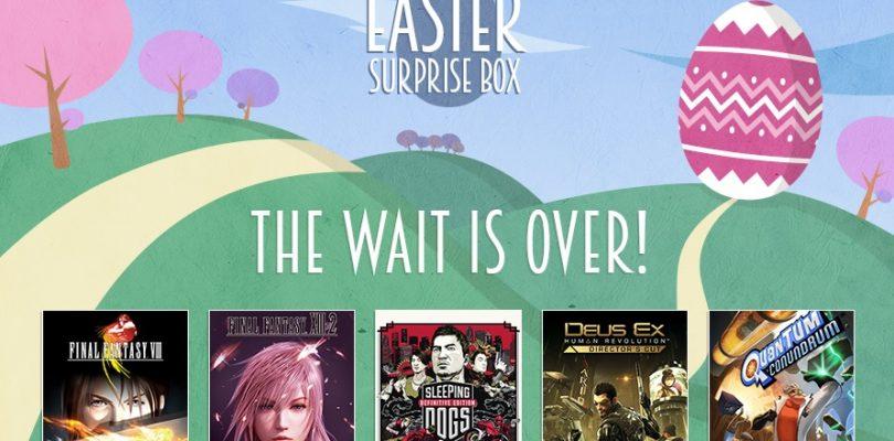 Das war in der Square Enix Easter Surprise Box