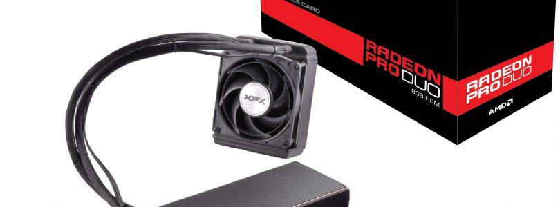 XFX Radeon PRO DUO – Unglaublich schnell aber auch unglaublich teuer