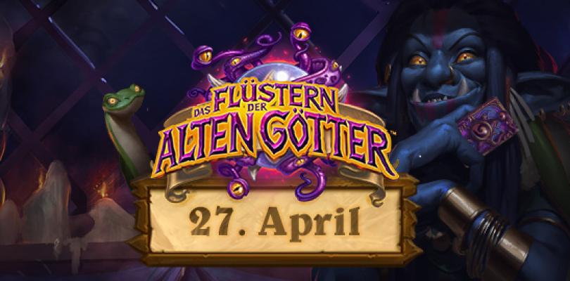 Hearthstone – Das Flüstern der alten Götter erscheint am 26. April