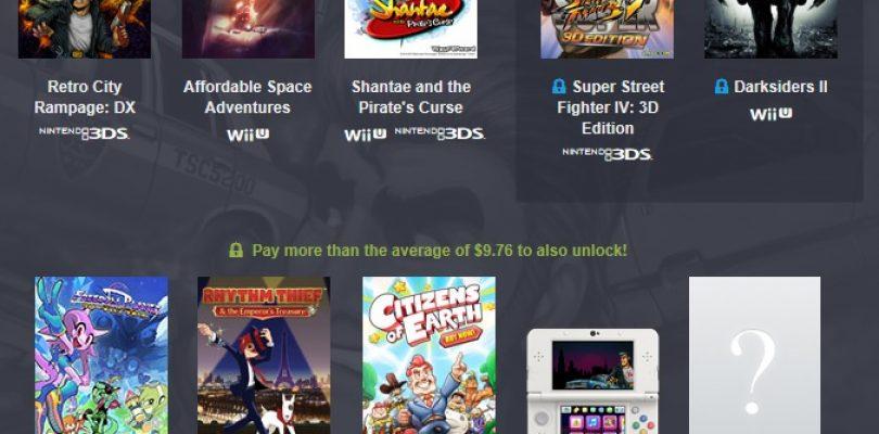Humble Bundle – Gaming-Paket von Nintendo für WiiU und 3DS