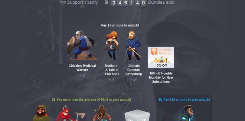 Humble Bundle – Paket mit Homeworld Remastered, Tropico 5, Victor Vran und mehr