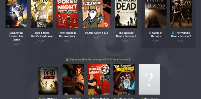 Humble Bundle mit den Adventures von Telltale Games