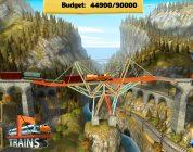 Das Trains-DLC von Bridge Constructor im Testcheck