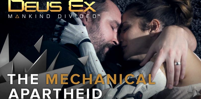 "Deus Ex: Mankind Divided – Spektakulärer ""The Mechanical Apartheid""-Trailer veröffentlicht"