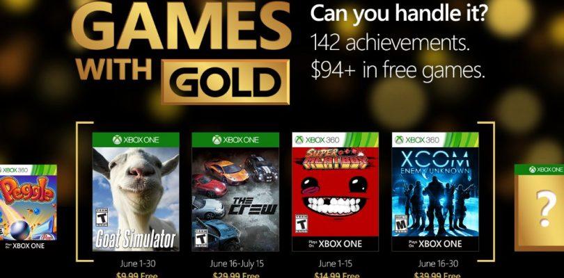Das sind die Games with Gold im Juni 2016