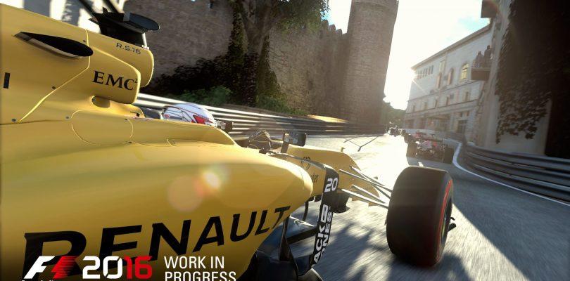 F1 2016 – Rennstrecke Baku erstmals dabei, neuer Trailer