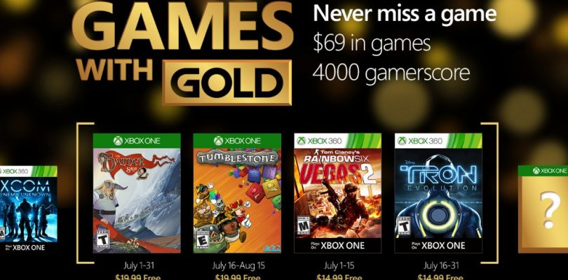 Games with Gold – Das gibt es im Juli 2016 gratis
