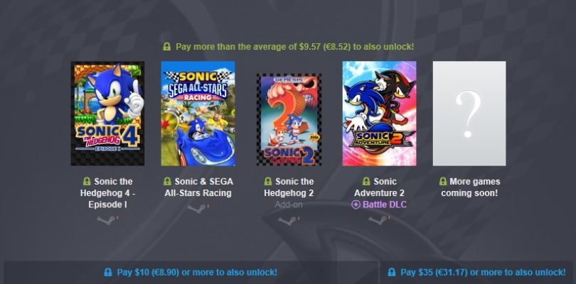 Humble Bundle – Sonic feiert Geburtstag mit mächtig kleinen Preisen