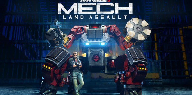"Just Cause 3 – Die Erweiterung ""Mech Land Assault"" erscheint am 03. Juni"