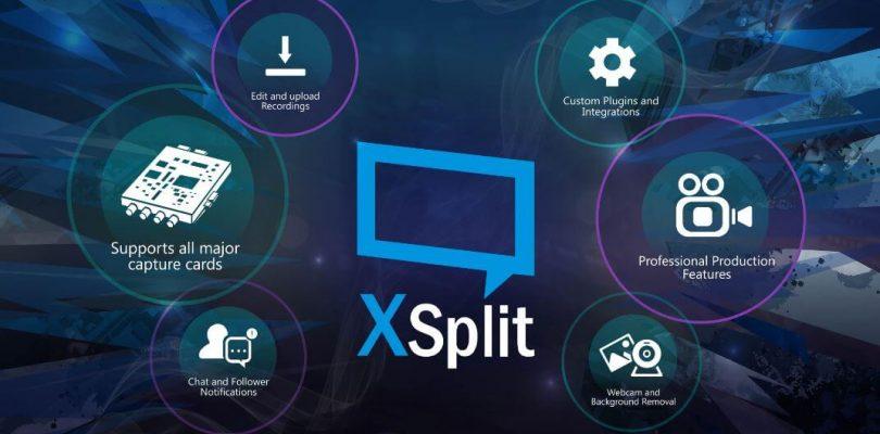XSplit – Broad- und Gamecaster Streaming Software ab sofort auf Steam verfügbar