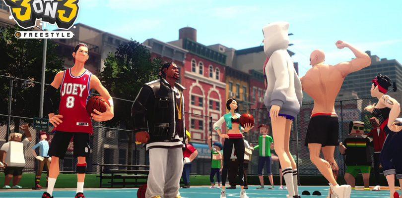 3on3 Freestyle erscheint exklusiv für die PS4