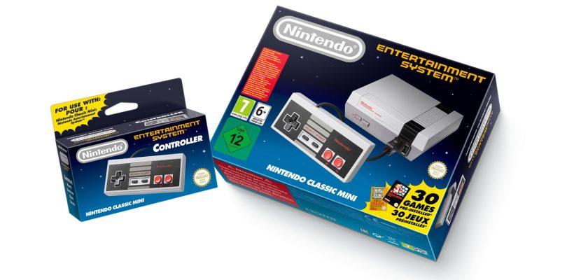 Der NES von Nintendo kehrt als Mini-Verion zurück!